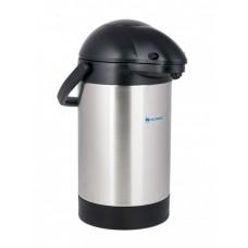 Термос вакуумный с помпой 2,5 литра, (Верблюд), LuoTuo (Solidware) SVAP-2500BP