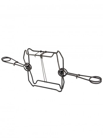 Капкан проходной КПТ-250, гуманный, разрешен для промысла в РФ (на бобра, барсука, выдру, песца)