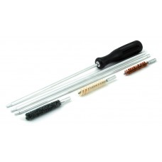 Набор для чистки оружия калибра 7,62 мм,  шомпол, 2 ерша, вишер, арт 7175-6 (7,62)