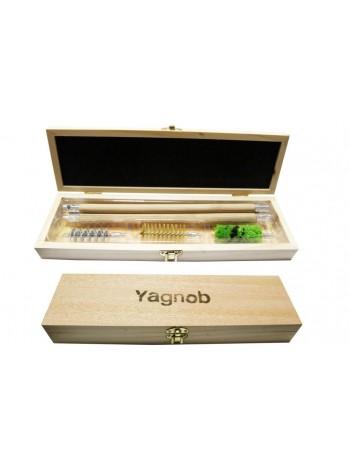 Набор для чистки оружия Yagnob 8812 12clb в деревянной шкатулке (коробка50/упаковка25)