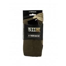 Тактические термоноски 5.11 RECON, Ankle Sock, цвет олива/серый, арт TAC-6260