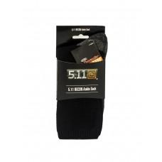 Тактические термоноски 5.11 RECON, Ankle Sock, цвет черный/серый, арт TAC-6260