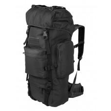 Тактический рюкзак Grizzly, Tactica 762, арт 229, 50-70 литров, цвет Черный (Black)