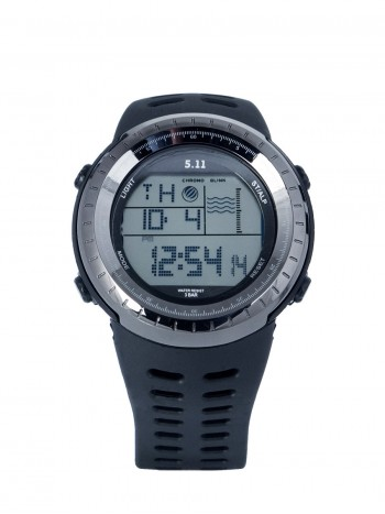 Тактические часы Tactical Series, Water Resistant, арт 09631, цвет Черный/Графитовый (Black Carbon), Реплика