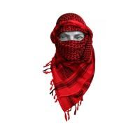 Арафатка красно-черная,110х110 см, арт.500800