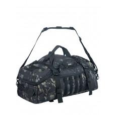 Тактический рюкзак сумка (баул) Gongtex Traveller Duffle Backpack, 55 л, арт 0308, цвет мультикам блэк (Multicam Black)