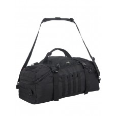 Тактический рюкзак сумка (баул) Gongtex Traveller Duffle Backpack, 55 л, арт 0308, цвет черный