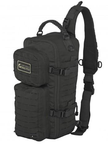 Однолямочный тактический рюкзак Gongtex Assault Sling Bag, 23 л, арт 0280, цвет Черный (Black)
