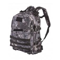 Рюкзак Тактический PATRIOT РТ-028, Tactica 7.62, 40 литров, цвет Криптек черный (Kryptek Typhon)