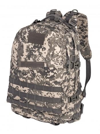 Рюкзак Тактический PATRIOT РТ-028, Tactica 7.62, 40 литров, цвет Цифровой серый (ACUPAT)