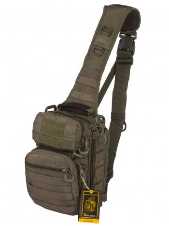 Тактический Рюкзак-Сумка GONGTEX Rover Sling Hexagon Backpack, арт 0306, цвет Олива (Olive)