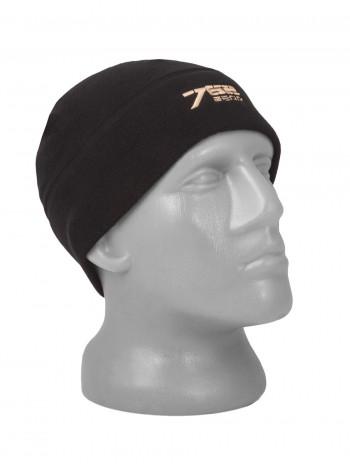 Флисовая шапка Tactica 7.62, цвет Черный (Black)