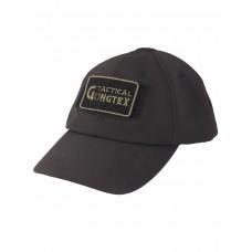 Кепка-бейсболка демисезонная Софтшелл, Gongtex Softshell Cap, Waterproof, цвет Черный (Black)