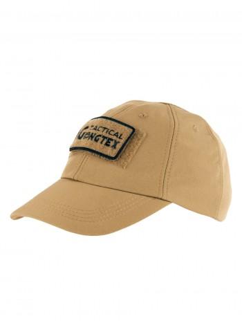 Кепка-бейсболка демисезонная Софтшелл, Gongtex Softshell Cap, Waterproof, цвет Койот, Песок, (Coyote)