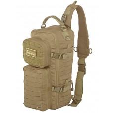 Однолямочный тактический рюкзак Gongtex Assault Sling Bag, 23 л, арт 0280, цвет Койот (Coyote)