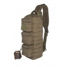 Рюкзак Однолямочный, Тактический, Gongtex Single Pack, 20 л, арт GB0310, цвет Олива (Olive)