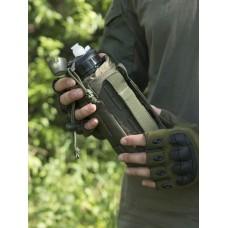Тактическая фляга GONGTEX с чехлом и креплением на систему Молле цвет Олива