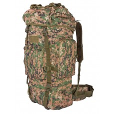 Тактический рюкзак Grizzly, Tactica 762, арт 229, 50-70 литров, цвет Марпат (Marpat)