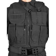 Тактический разгрузочный жилет арт. 045 цвет Черный (Black)