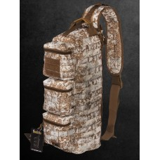 Рюкзак Однолямочный, Тактический, Gongtex Single Pack, арт GB0310, цвет Снежная Пустыня