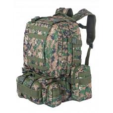 Рюкзак Тактический FORTRESS с напояс. сумкой и 2 подсум, 40 л, арт 016, цвет Марпат (Marpat)