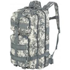 Тактический рюкзак Silver Knight, арт 3P, 33 л, цвет ACU, Цифровой серый  (ACUPAT)