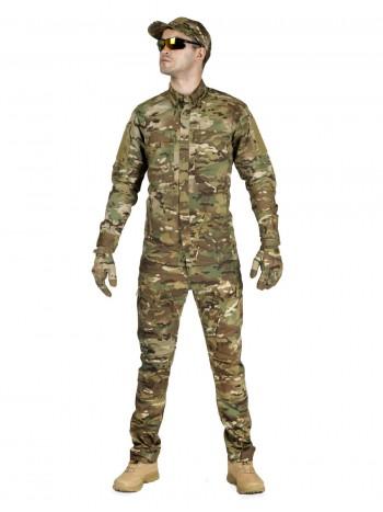 Костюм тактический мужской, летний, Gongtex Commando, 100% хлопок , цвет мультикам
