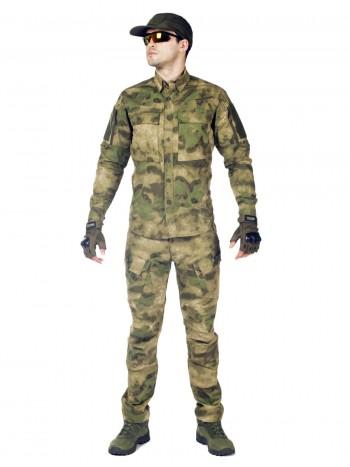 Костюм тактический мужской, летний, Gongtex Commando, 100% хлопок , цвет A-Tacs