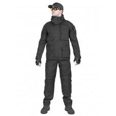 Костюм тактический мужской демисезонный GONGTEX Rescuer, цвет Черный (Black)