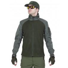 Куртка мужская флисовая GONGTEX Russian Flight Jacket, цвет Олива (Olive)
