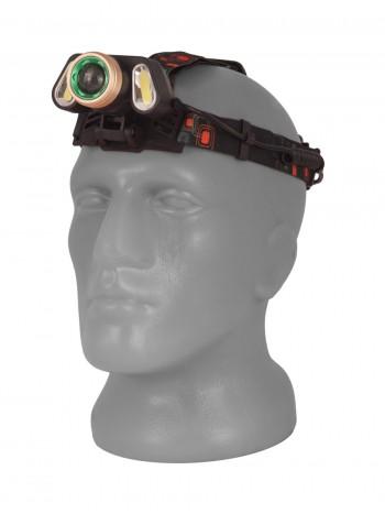 Мощный  налобный светодиодный аккумуляторный фонарь T-106