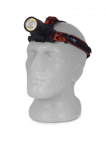 Мощный, налобный, светодиодный, аккумуляторный фонарь, арт. SY8027