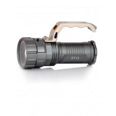Фонарь светодиодный, мощный,  ручной, аккумуляторный, арт. ST-13