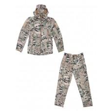 Тактический костюм Софтшелл Softshell Tactical Gear, до -10С, цвет Mультикам (Multicam)