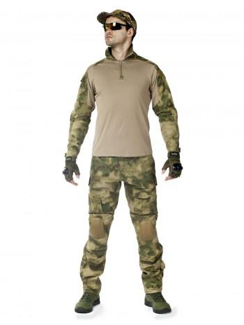 Костюм тактический мужской -  летний TACTICA 7.62 со съемной защитой локтей и коленей, цвет A-Tacs