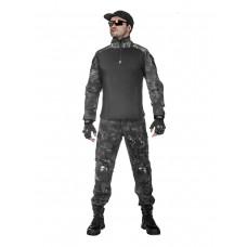 Костюм тактический мужской -  летний TACTICA 7.62 со съемной защитой локтей и коленей, цвет Kryptek Typhon