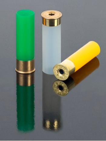 Гильза  полиэтиленовая, без капсюля 12 к., высокий цоколь 16 мм, Maxam, Cheddite, (100 шт)