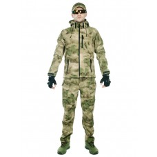 Тактический костюм мужской софтшелл (Softshell) GONGTEX ASSAULT, до -10С, цвет Атакс, Мох (A-TACS FG)