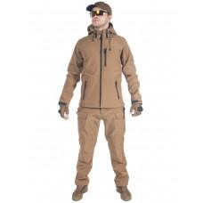 Тактический костюм мужской софтшелл (Softshell) GONGTEX ASSAULT, до -10С, цвет Койот (Coyote)