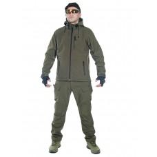 Тактический костюм мужской софтшелл (Softshell) GONGTEX ASSAULT, до -10С, цвет Олива (Olive)