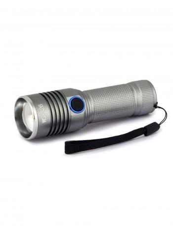 Фонарь светодиодный, мощный, ручной, аккумуляторный, арт. WS-S26