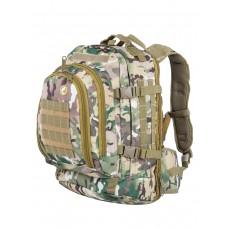Рюкзак тактический Bulle Outdoor Camouflage Bag, 30л, арт 644, цвет Мультикам (Multicam)