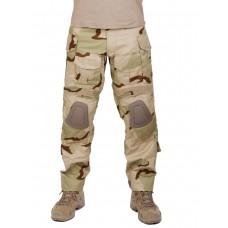 Брюки тактические мужские летние G3 Tactical Pants, с защитой коленей, цвет US3 Пустыня (US 3 Desert)