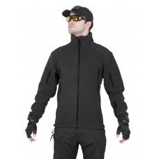 Флисовая куртка 762 GEAR Fleece Jacket, Tactica 762, арт 1393, цвет Черный (Black)
