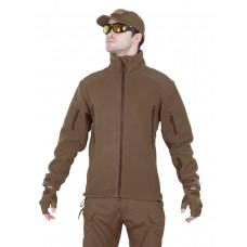 Флисовая куртка 762 GEAR Fleece Jacket, Tactica 762, арт 1393, цвет Койот (Coyote)