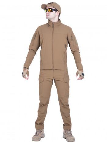 Костюм тактический мужской, демисезонный, Gongtex Outdoor Tactical Suit, цвет Койот (Coyote)