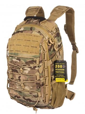 Рюкзак Тактический GONGTEX GHOST II HEXAGON BACKPACK, арт 0423, цвет Мультикам (Multicam)