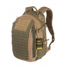 Рюкзак Городской, Тактический, GONGTEX MISSION PACK, 30 литров, арт 0424, цвет Койот/Оливковый