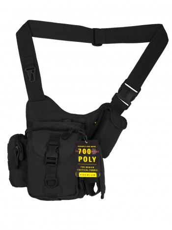 Тактическая сумка GONGTEX Multi-Sling Bag, арт 0445, цвет Черный (Black)