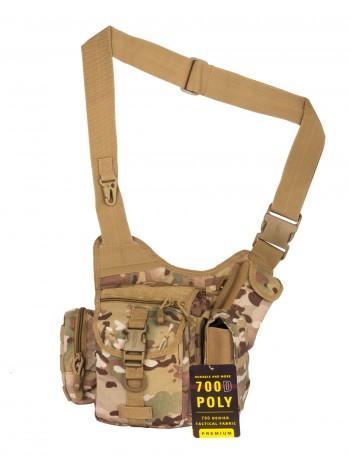 Тактическая сумка GONGTEX Multi-Sling Bag, арт 0445, цвет Мультикам (Multicam)